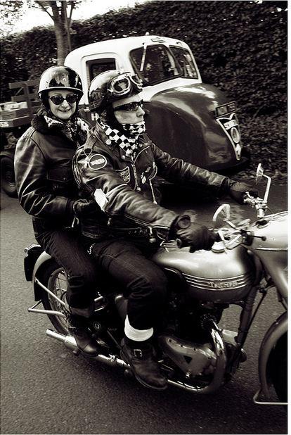 Mick & Sandy's Triumph